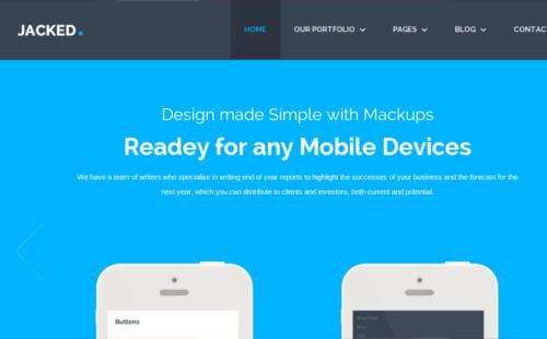 Minimalistische Webdesign Beispiele