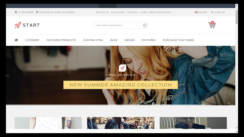 Start-minimalistisches-Webdesign-Beispiel