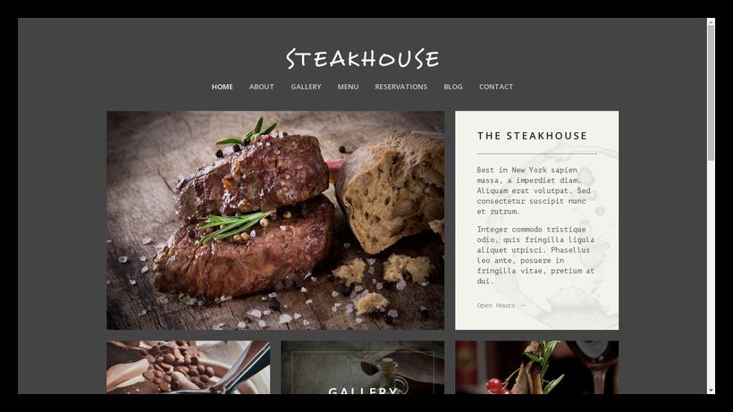 Steakhouse-grid-style-webdesign-beispiel