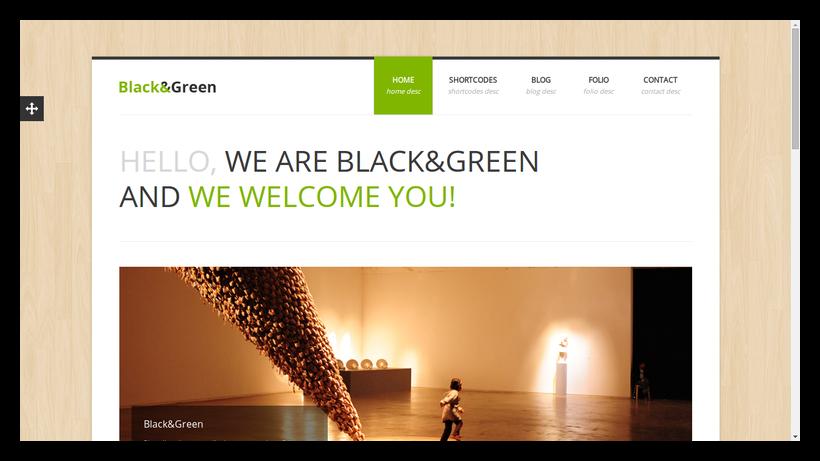 blackgreen-grid-style-webdesign-beispiel