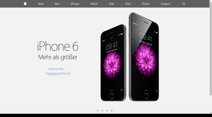 minimalismus-webdesign-beispiel-apple-iphone