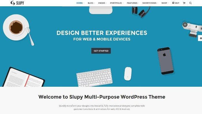 business-Theme für WordPress