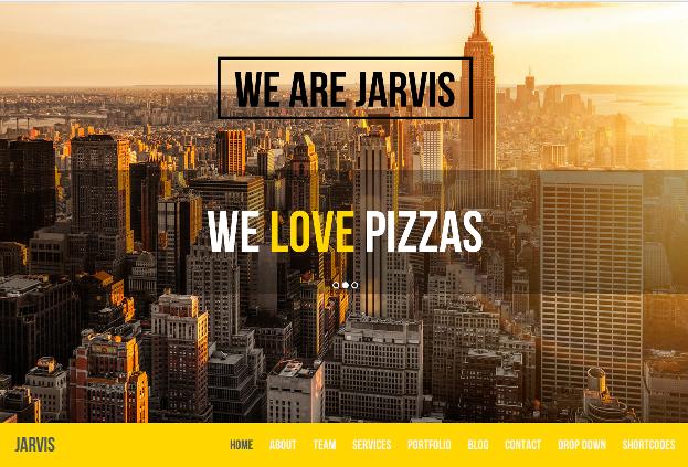 Jarvis-Parallax-Theme