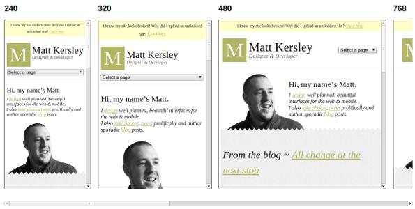 Online-Tool zum Testen von Responsive Webdesign