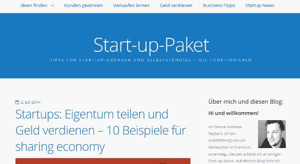 start-up-paket-blog für gründer