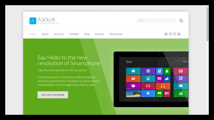 Aeolus-grid-style-webdesign-beispiel