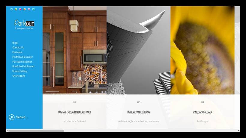 Parkour-grid-style-webdesign-beispiel