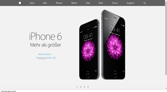 minimalismus-webdesign-beispiel-apple-iphone