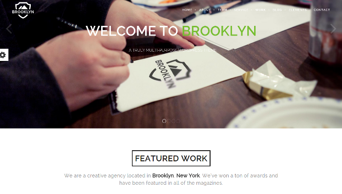 Brooklyn - Multi-Purpose WordPress Theme (Screenshot: themeforest.net)